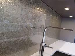 Deep Silver Premium Kitchen Glass Splashback By CreoGlass Design LondonUK This