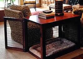 Classic Wire And Wood Dog Crate