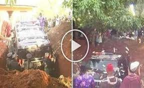 UNBELIEVABLE Months After Nigerian Man Buried His Mother In
