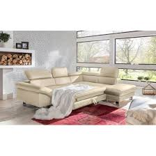 garnitur driver lederlook beige ca 266 x 214 cm