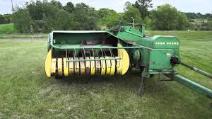Christmas Tree Baler For Sale by Got A Old Time Baler That Has Just Been Sitting Around Collecting