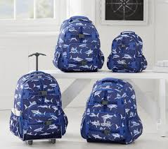 Mackenzie Navy Shark Backpack | Pottery Barn Kids Pottery Barn Star Wars Bpack Survival Pinterest New Kids Batman Spiderman Or Star Wars Small Mackenzie Blue Multicolor Dino For Your Vacations Ltemgtstar Warsltemgt Droids Wonder Woman Mini Prek Back Pack Cele Mai Bune 25 De Idei Despre Wars Bpack Pe Play Cstruction Bpacks Rolling Navy Shark