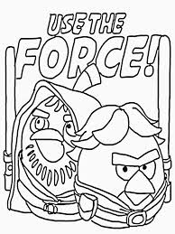 Download Coloring Pages Angry Birds Star Wars Printable