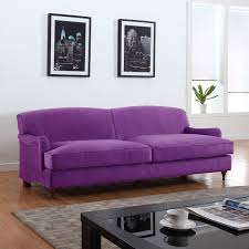 Grey And Purple Living Room by Amazon Com Mid Century Classic And Traditional Soft Microfiber