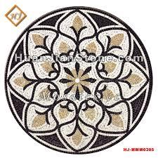 mosaic floor tile medallions supplier huanjian supply mosaic