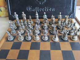Desk Set 1957 Cast by 1957 Die Casting Master Collection Chess Set From
