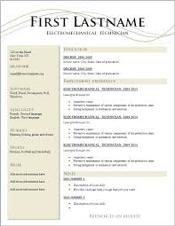 Free Resume Creator Download Best Template Basic Examples And