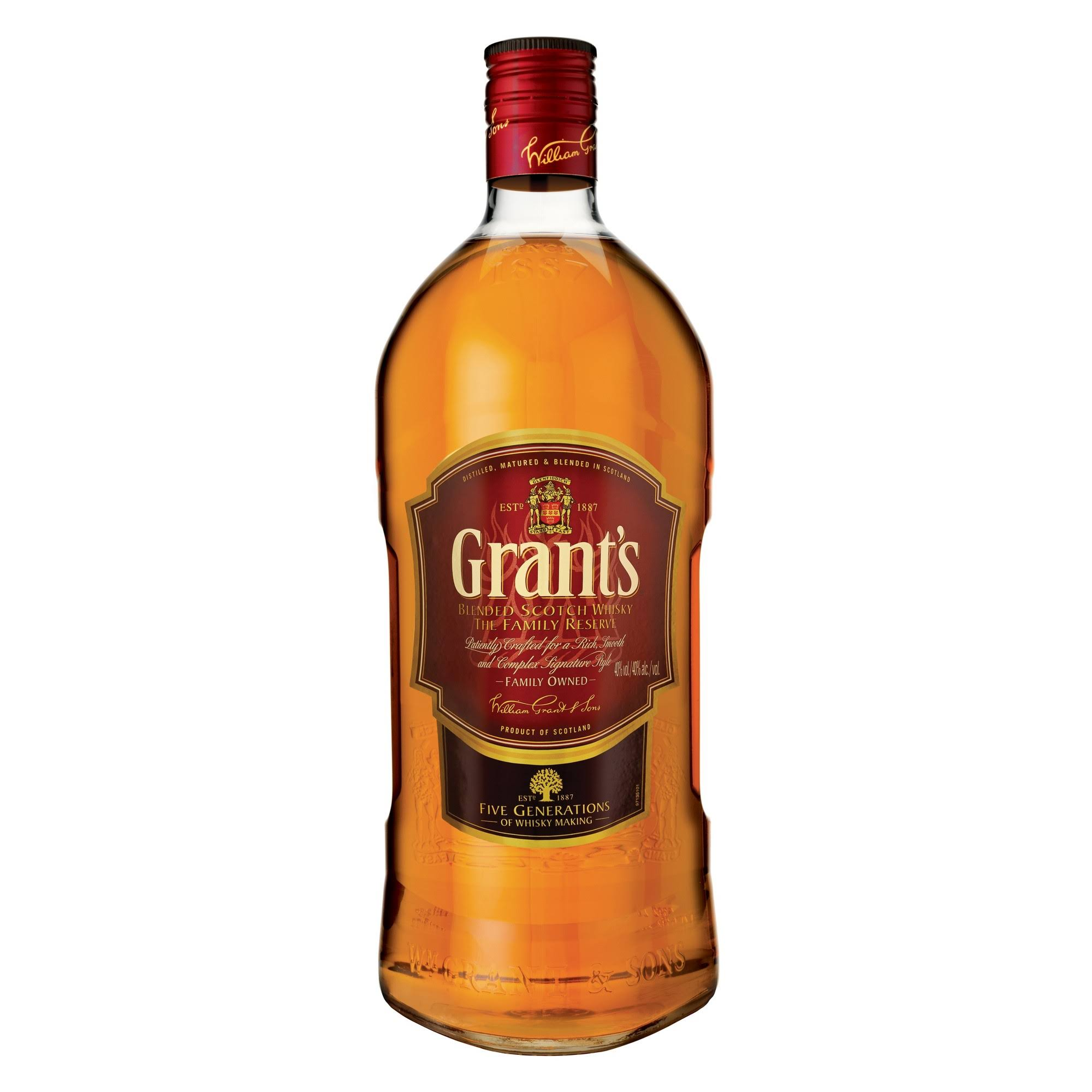 Grant's Blended Scotch Whisky - 1.75l