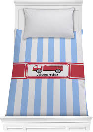 100 Fire Truck Bedding Twin Truck Comforter Personalized YouCustomizeIt