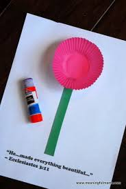 Construction Paper Cupcakes