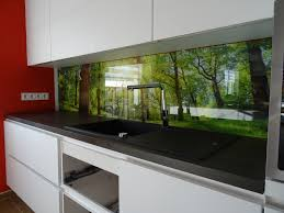 bedruckte küchenrückwände