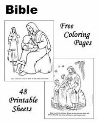 Free Printable Bible Coloring Pages Bulletin Boards