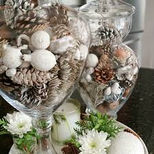 Winter Apothecary Jar Filler Idea Diy Kitchen Decor
