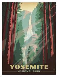 Yosemite Falls From The Path