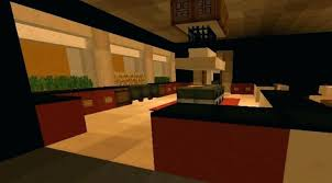 Minecraft Dining Table Builds Modern Style House With Surprise Room Indoor Ideas Bedroom