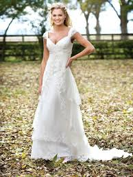 Unique Country Lace Wedding Dress Or Queen Style Rustic All About Dresses