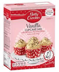 vanilla cupcake mixhx