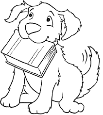 Printable Dog Coloring Book 92 For Your Pictures With