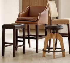 Weyburn Leather Barstool