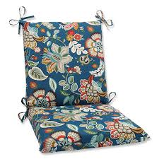 Amazon Uk Patio Chair Cushions by Amazon Com Pillow Perfect Outdoor Telfair Squared Corners Chair