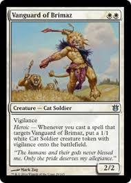 Cat Deck Mtg Goldfish by Vanguard Of Brimaz Born Of The Gods Bng Price History