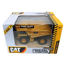 100 Caterpillar Dump Truck Toy 1101 Metal Machines 797F Diecast Vehicle