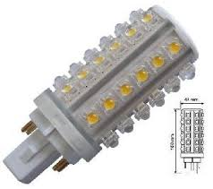 g24q 1 4 pin 5 4w led bulb cfl led replacement cool white