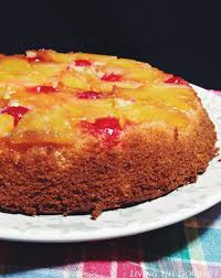 Pineapple Upside Down Cake Living The Gourmet