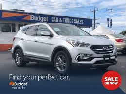 2018 Hyundai Santa Fe Sport Panoramic Sunroof, Bluetooth, Leather ...