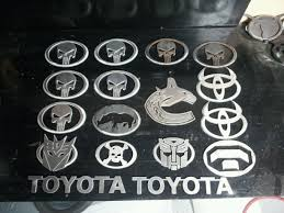100 Truck Emblems Custom By Metalmiller Toyota Tacoma Toyota Tacoma