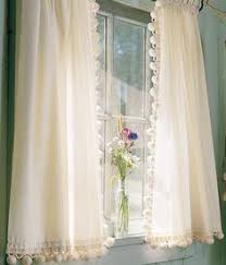 Searsca Sheer Curtains by Pair Linen Pom Pom Sheer Curtain 52 U0027 U0027 Choose Your Length Two