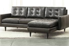 Crate And Barrel Axis Sofa Dimensions by Crate And Barrel Lounge Sofa Care Axis Slipcover Petrie Leather