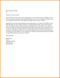 Character Reference Letter Template For Court