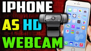 how to use iphone as web camera on a pc 2016 Make your iphone