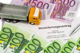 100 Insurance For Trucks An Contract New With Euro Money Bills Stock