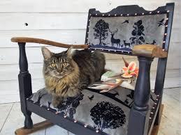 Vintage Oak Small Rocking Chair | Vinterior.co