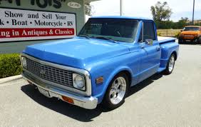 100 Chevy Stepside Truck For Sale 1972 Chevrolet Short Bed Pick Up