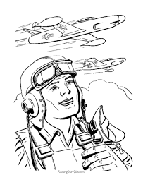 Coloring Pages Of Airplanes
