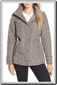 Michael Kors Women s Field Flannel Quilted Jacket at