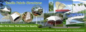 Tensile Membrane Structure Structures Manufacturer Delhi