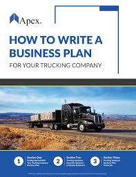 100 Horizon Trucking How To Write A Business Plan For Your Company Apex Capital