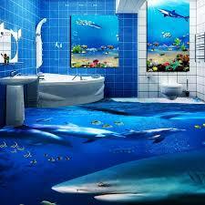 livraison gratuite océan esthétique requin dauphin toilettes