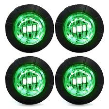 100 Truck Marker Lights Buy 4 ClearGreen LED Side 34 Clearance