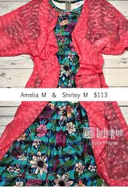 Try Out This Floral And Striped Amelia Dress With Pockets Paired A Lovely Coral Shirley Like Lularoe Outfit