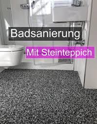 steinteppich für bad begehbare duschen regionale