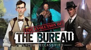 xcom the bureau the evolution of the bureau xcom declassified