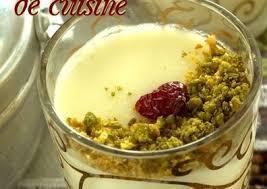 amour de cuisine mahalabiya amour de cuisine recette du rama
