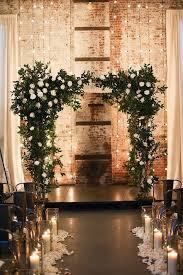 Rustic Indoor Wedding Arch Deerpearlflowers Winter Ideas 3