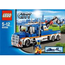 100 Lego City Tow Truck LEGO 60056 DECOTOYS