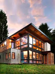 104 Container Homes Industrial Home In Seattle Designed To Look Like A Shipping House